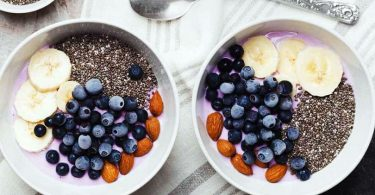 Chia semena v prehrani